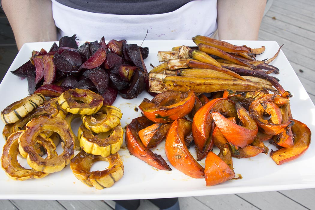 roasted veg platter 1